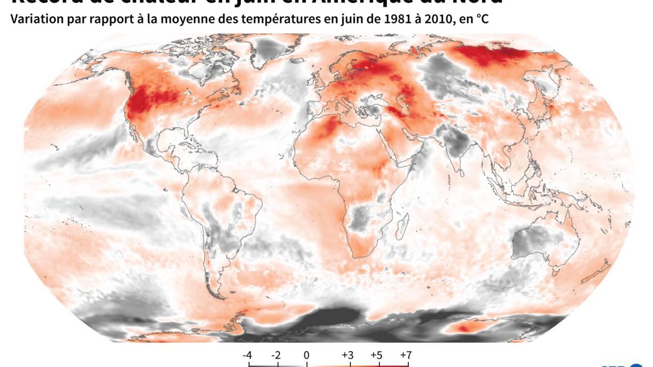 Etats-Unis : nouveau record de température dans la Vallée de la Mort