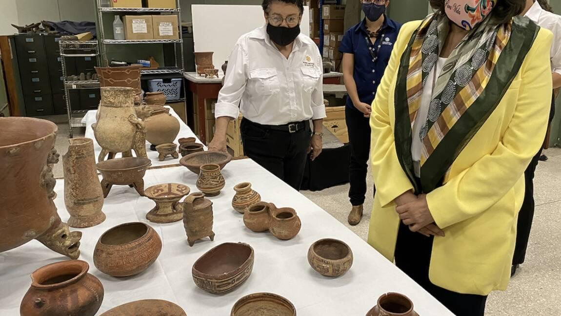 Archéologie : le Costa Rica récupère 1 305 pièces précolombiennes en provenance des Etats-Unis