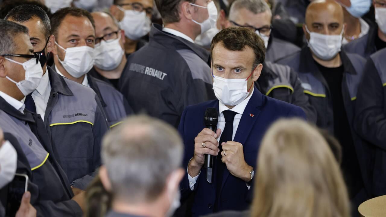Transition écologique: Macron va recevoir la filière automobile