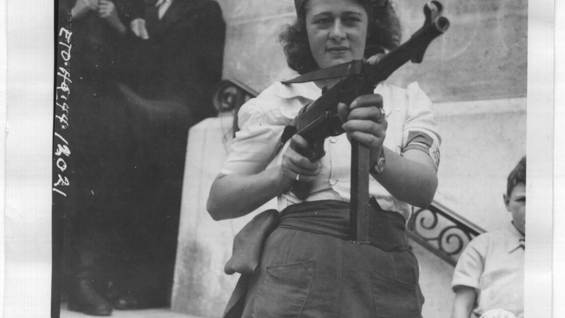 Simone Segouin : figure de la résistance