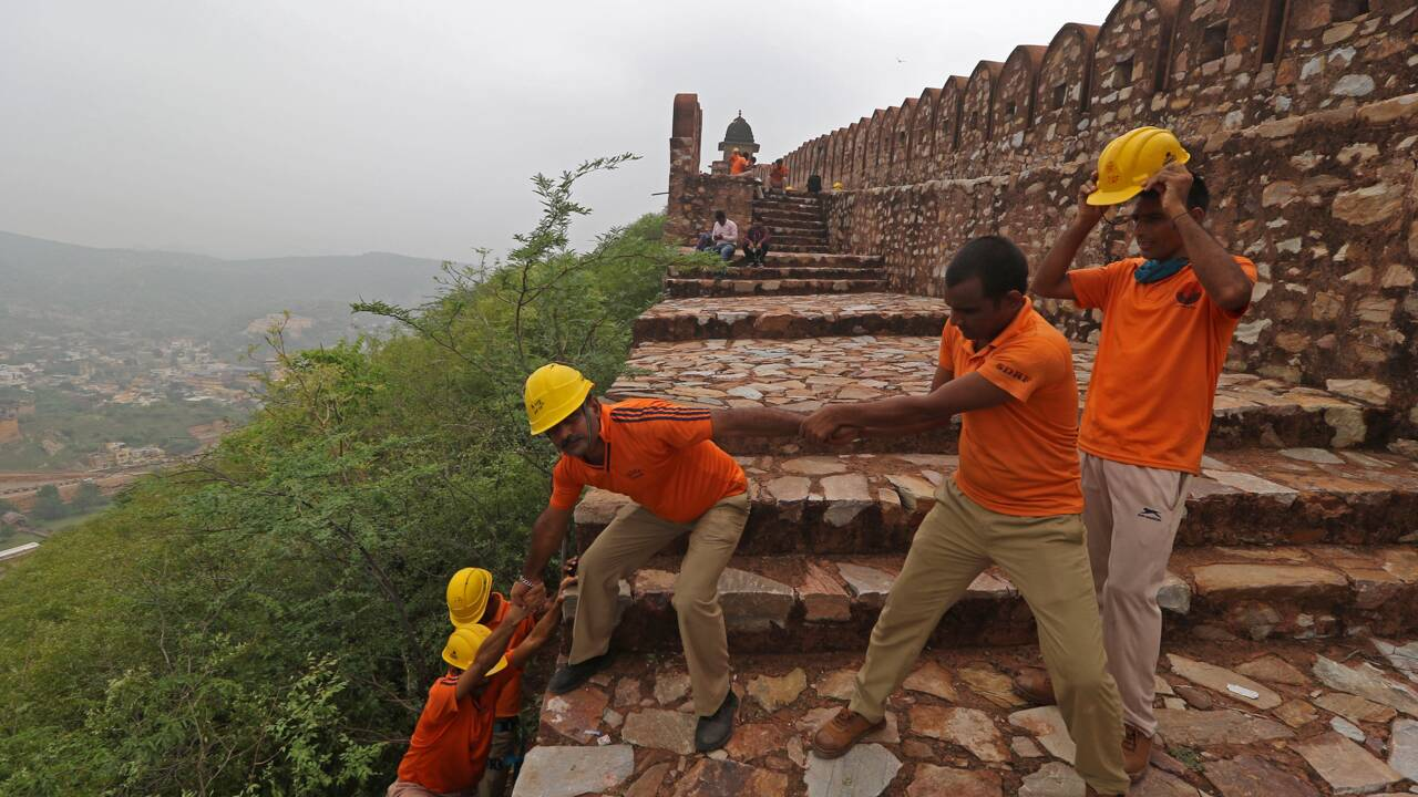 Mousson en Inde: 76 personnes tuées par la foudre