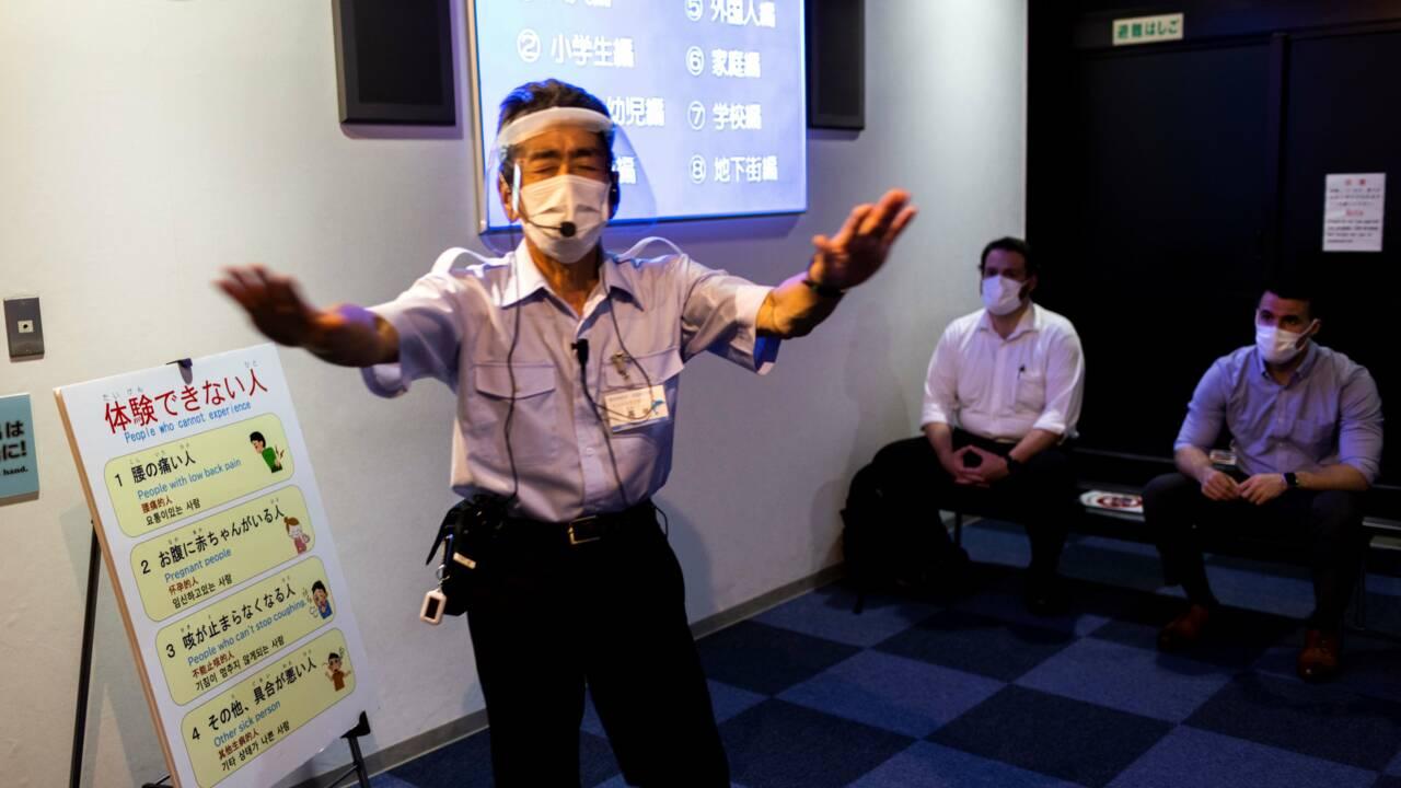 Jeux olympiques : Tokyo s'organise face aux risques de catastrophes naturelles