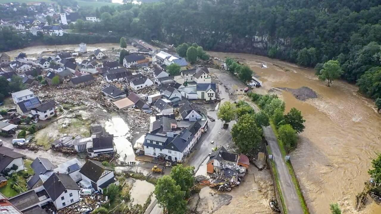 Intempéries: au moins 81 morts en Europe, l'Allemagne dévastée