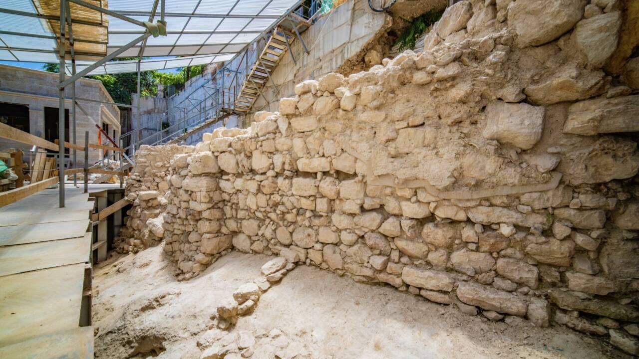Israël : de nouvelles portions de la muraille de Jérusalem dévoilées