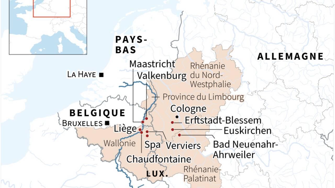 Inondations en Allemagne et Belgique: le réchauffement climatique est bien en cause