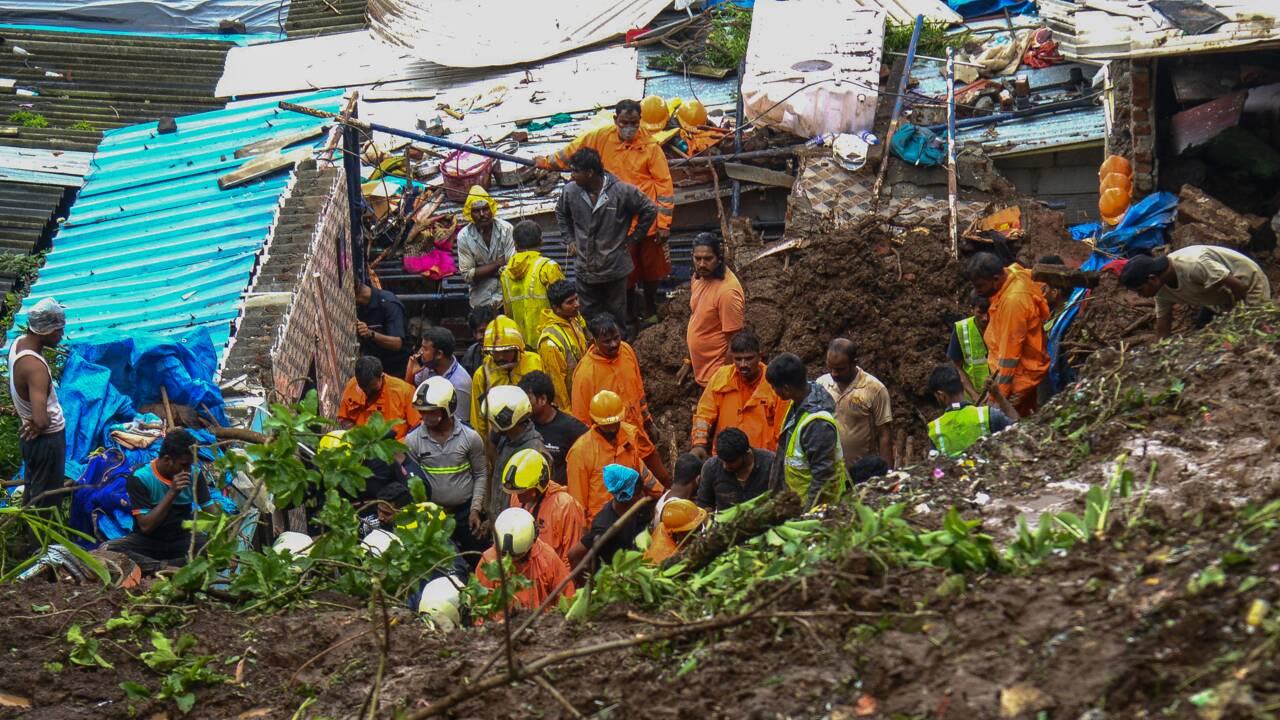 Mousson en Inde : au moins 34 morts
