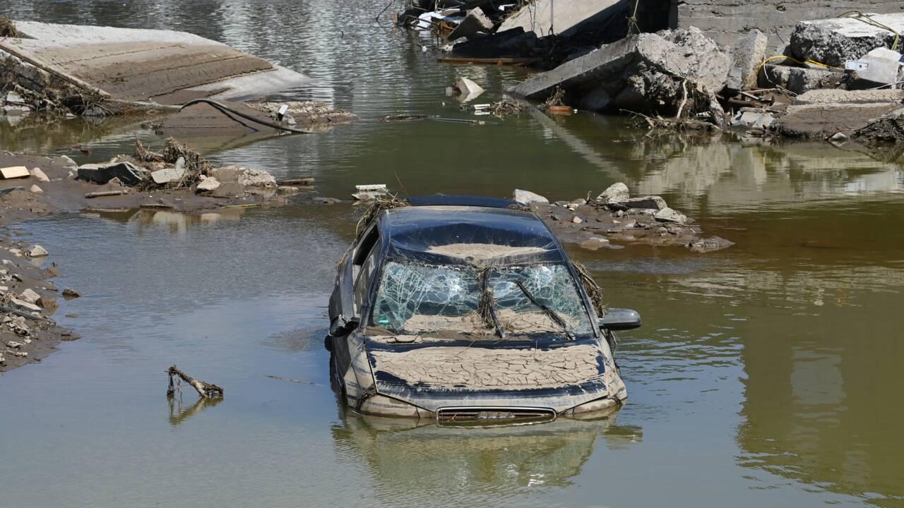 Inondations: Berlin alloue de premières aides d'urgence aux sinistrés