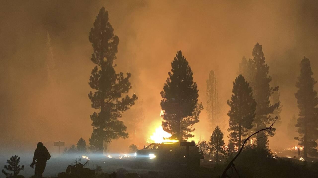 Feux de forêts: les évacuations se poursuivent dans l'Ouest américain