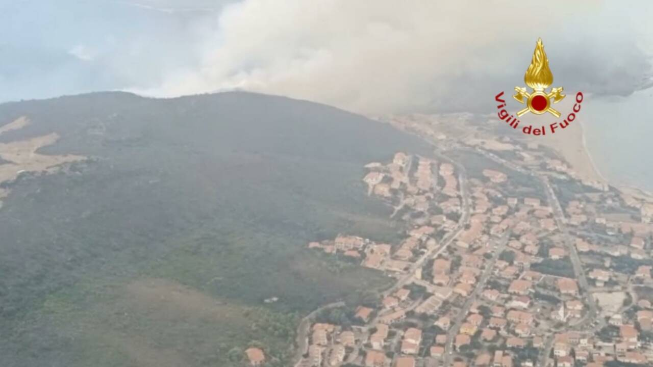Incendies en Sardaigne : la France et la Grèce envoient quatre Canadair