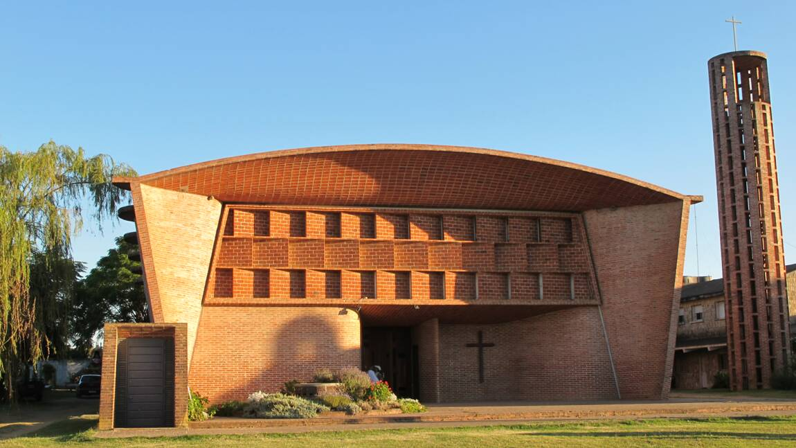 En Uruguay, l'église d'Eladio Dieste, Cristo Obrero, inscrite au Patrimoine mondial de l'Unesco