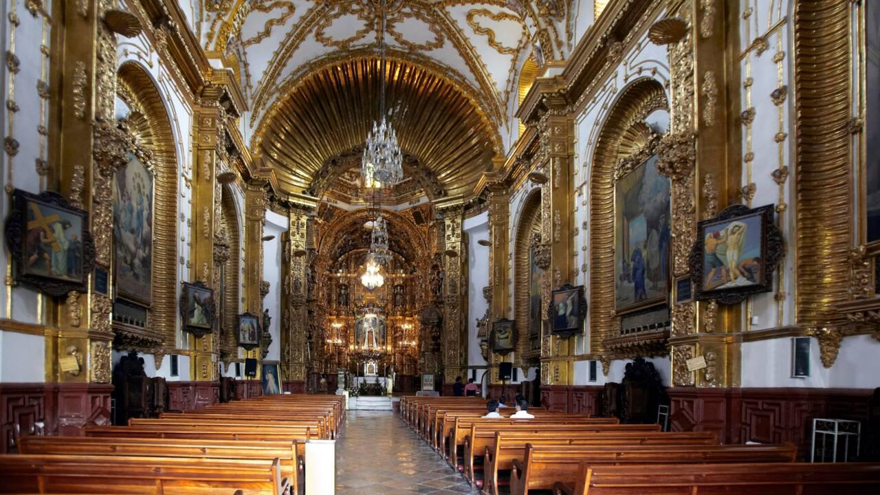La cathédrale mexicaine de Tlaxcala classée au Patrimoine mondial de l'Unesco