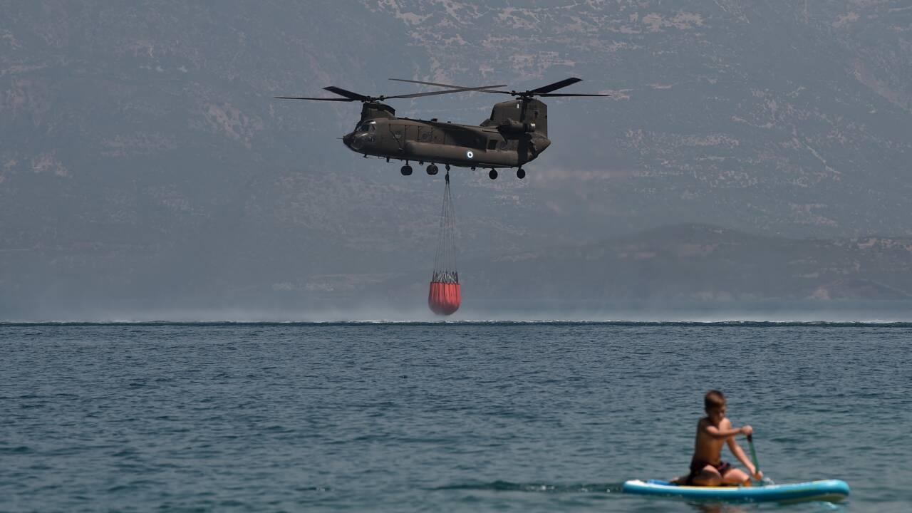 """""""La catastrophe est immense"""": l'incendie dans le Péloponnèse en passe d'être maîtrisé, nouveau feu à Rhodes"""