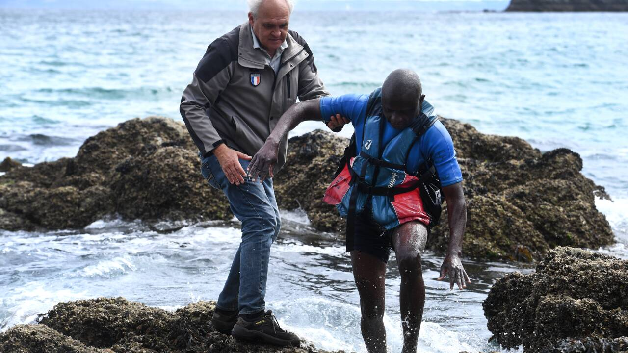 A Crozon, la plage de l'île Vierge, fruit défendu face à l'afflux de touristes