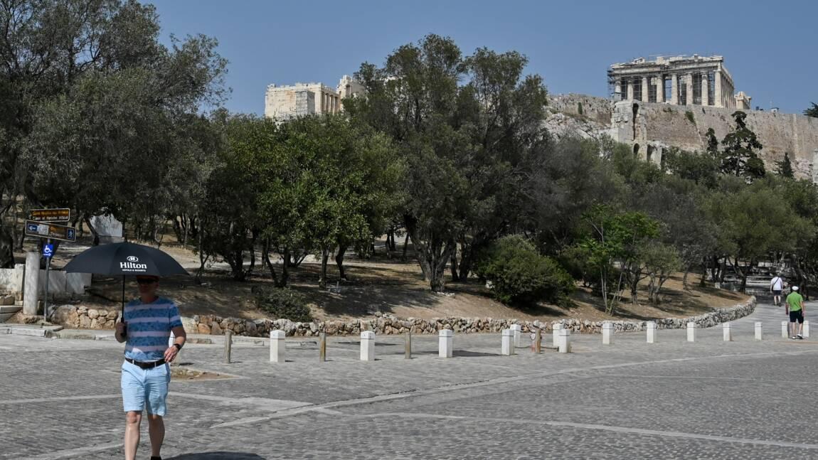 A Athènes, l'Acropole ferme ses portes pour cause de canicule exceptionnelle