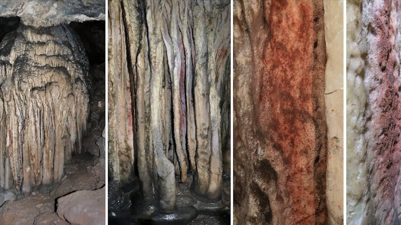 Néandertal a bien peint dans une grotte espagnole il y a 60.000 ans