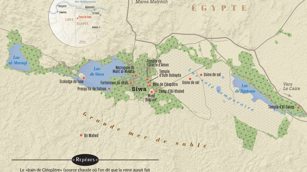 Egypte : trop d'eau, en plein désert ! Siwa, l'oasis qui défie le climat