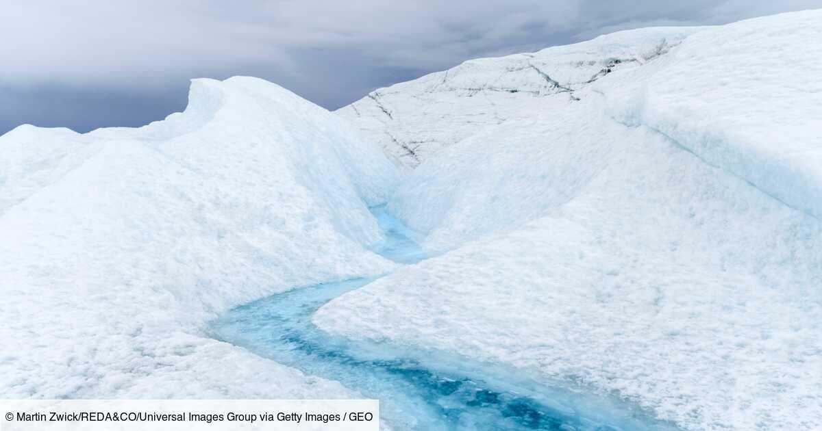 A cause de la chaleur, le Groenland perd huit milliards de tonnes de glace par jour
