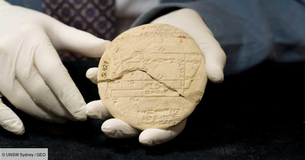 Un mathématicien découvre de la géométrie gravée sur une tablette vieille de 3 700 ans