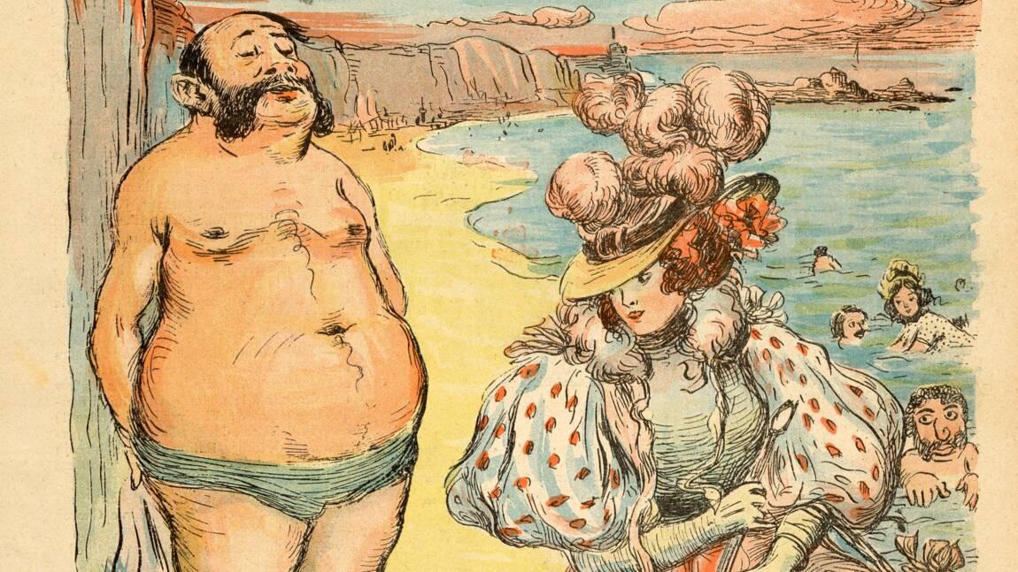 Les premiers bains de mer en France vus par la presse de l'époque