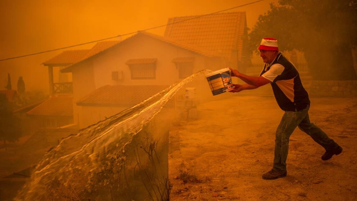 A Gouvès, englouti par le feu, les derniers récalcitrants évacués d'urgence