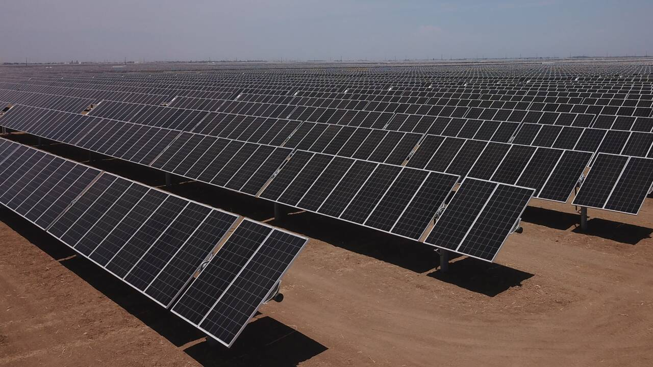 Le soleil pourra fournir 45% de l'électricité des États-Unis d'ici 2050