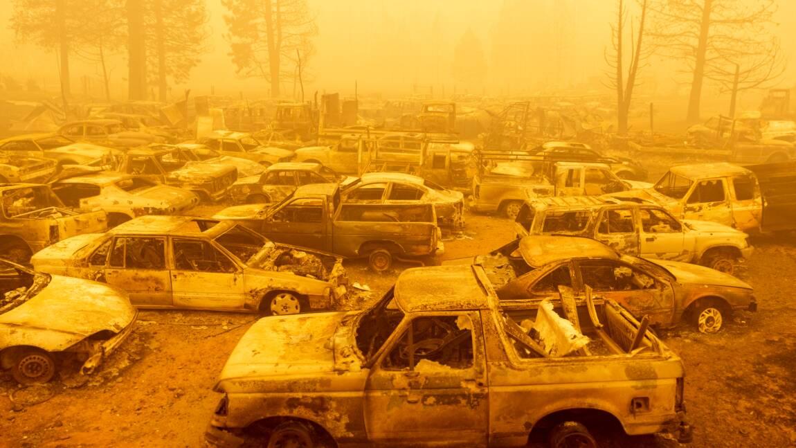 """""""Incinérée"""" : Greenville avant et après l'incendie monstre qui ravage la Californie"""