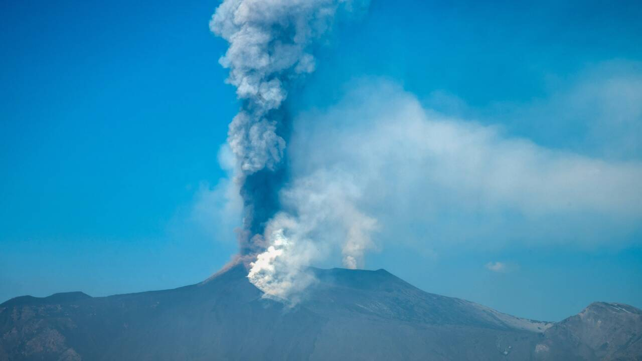 Après plusieurs mois d'activité, l'Etna a grandi de plusieurs mètres