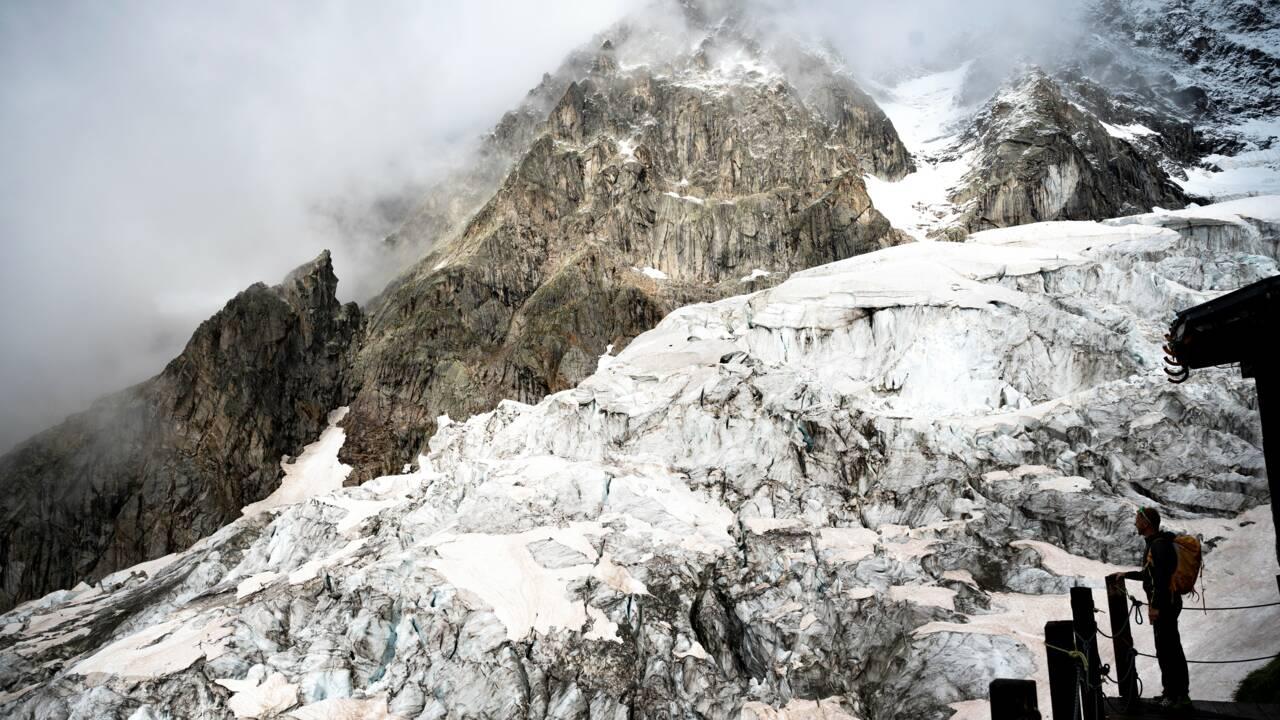 Mont Blanc : un glacier instable sous haute surveillance côté italien