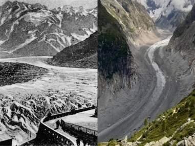 Avant-Après : ces photos montrent comment ces paysages ont changé avec le réchauffement climatique