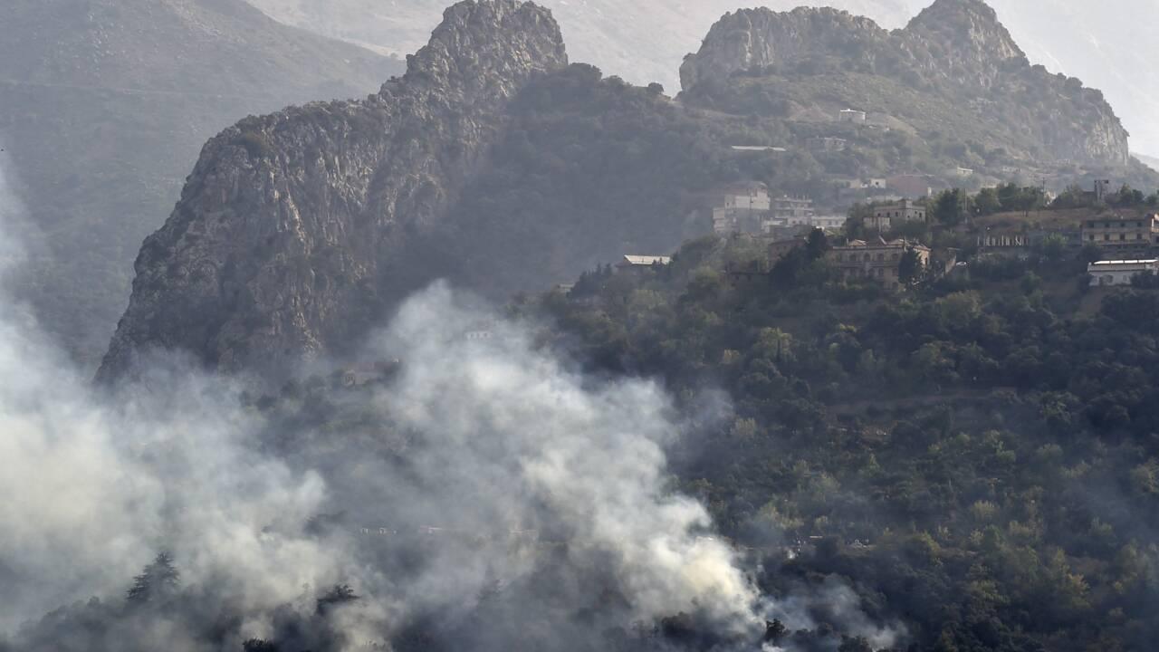 L'Algérie combat encore les feux de forêts, le bilan s'alourdit