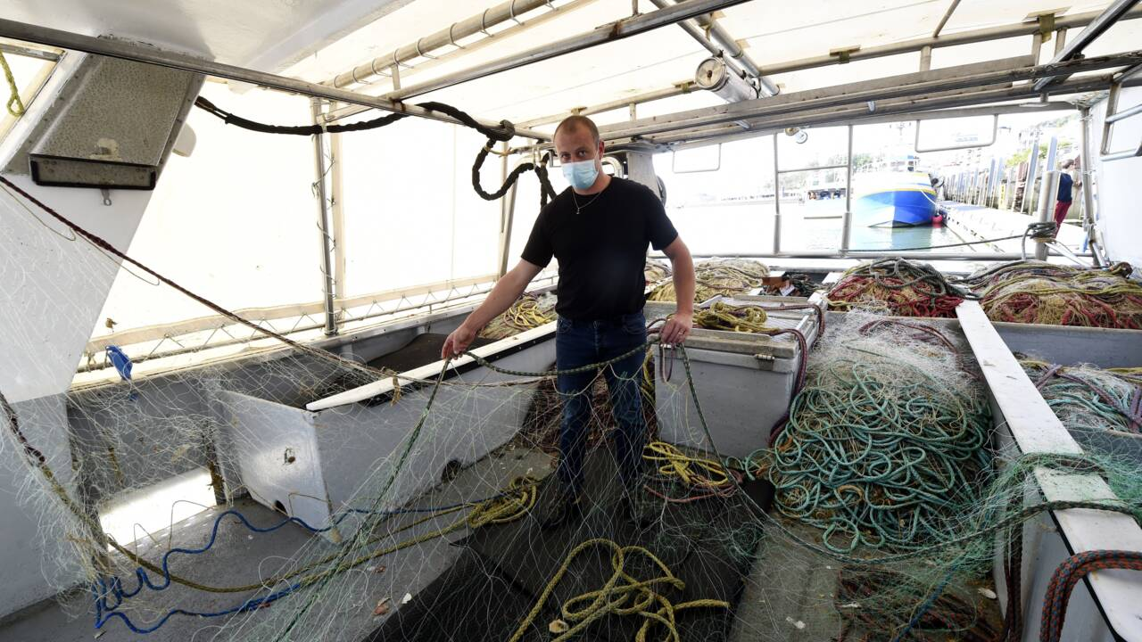 A Boulogne-sur-Mer, un filet biodégradable au défi d'allier pêche durable et enjeux économiques