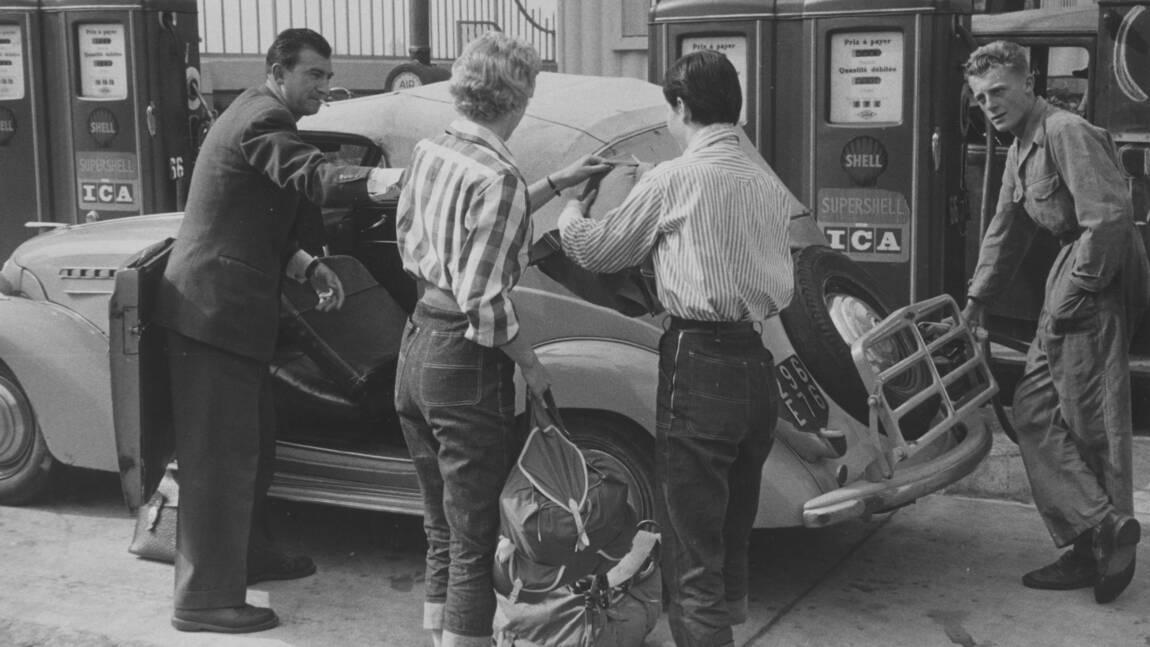 Patrimoine routier : des passionnées donnent une nouvelle vie à une ancienne station-service de la Nationale 7