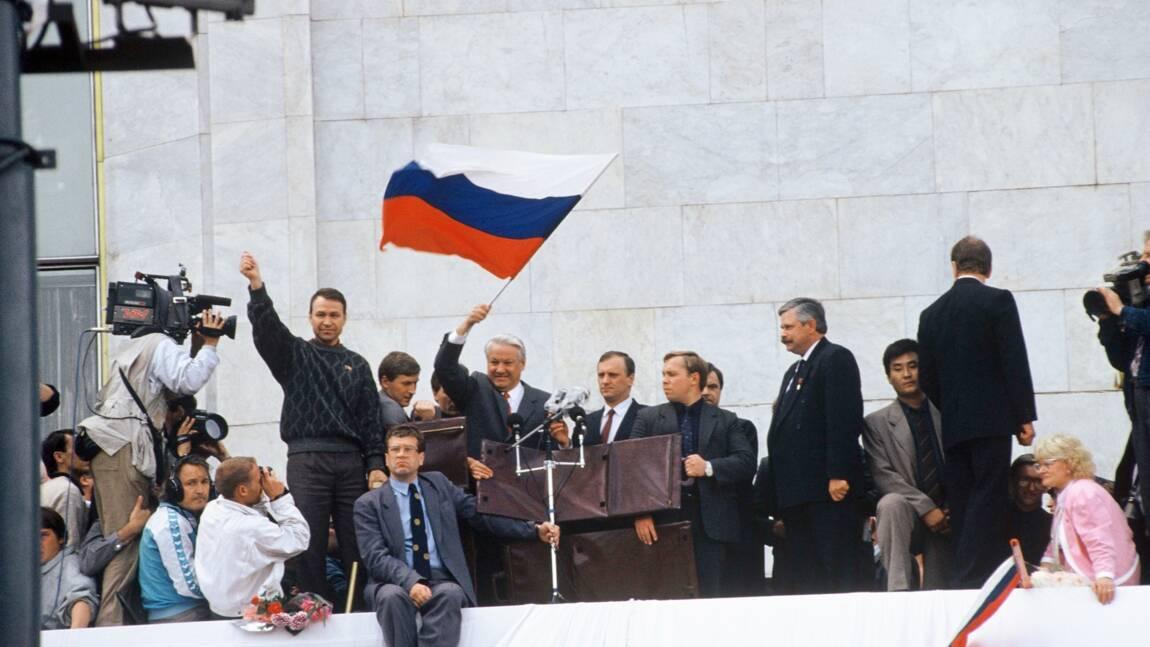En août 1991, le putsch raté qui précipita la dislocation de l'URSS