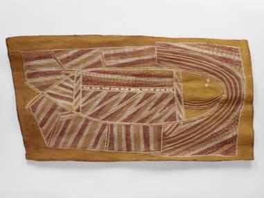 Australie : des peintures sacrées des Aborigènes de la Terre d'Arnhem exposées à Paris