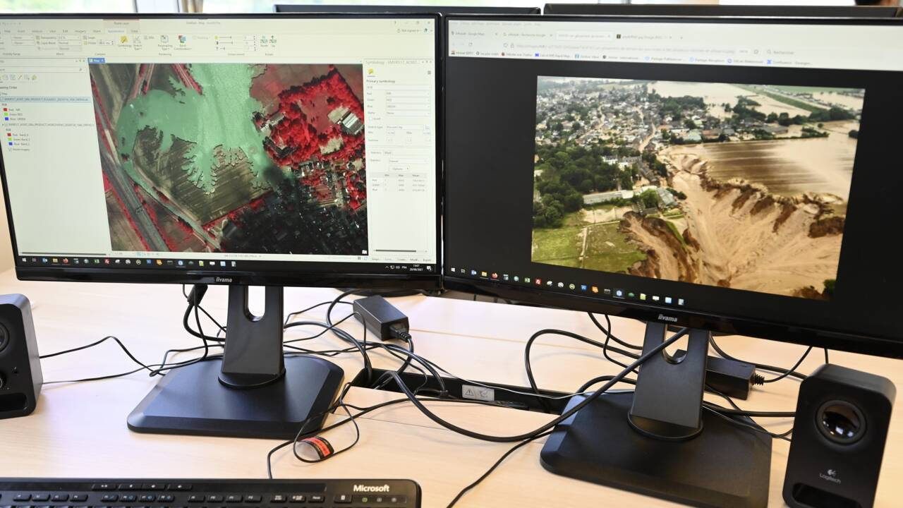 Des incendies du Var au séisme à Haïti : les cartographes de l'urgence