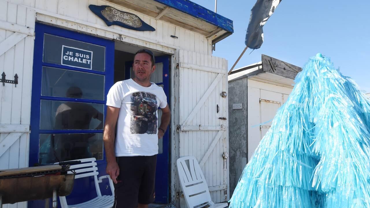 A Blériot-Plage, des irréductibles refusent que leurs chalets de plage soient détruits