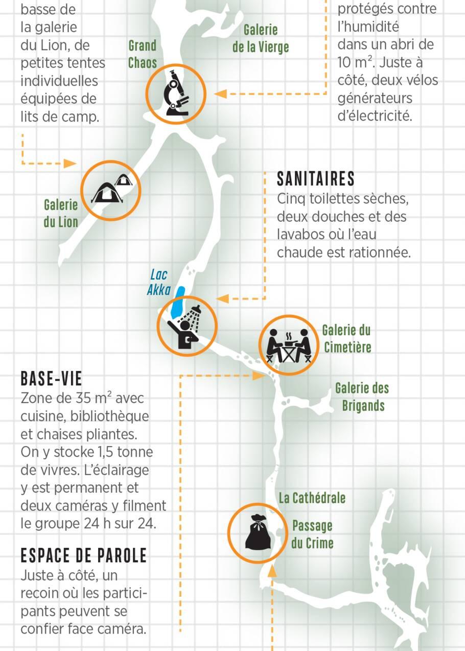 Deep Time : le récit de ces volontaires qui ont passé 40 jours isolés dans une grotte ariégeoise