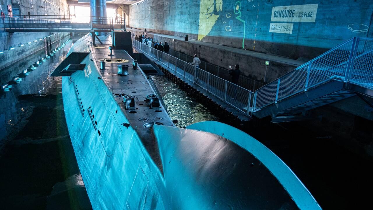 A Saint-Nazaire, embarquez à bord du sous-marin Espadon entièrement restauré