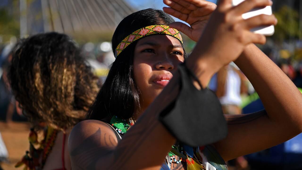 Brésil: des milliers d'indigènes mobilisés cette semaine contre Bolsonaro