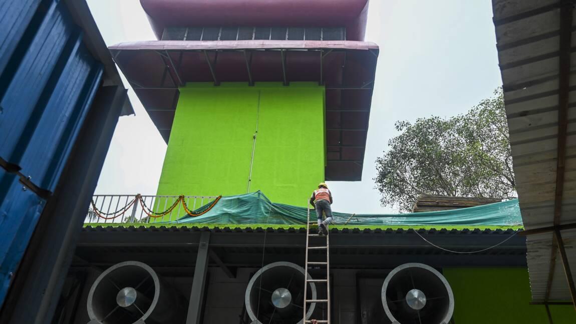 La tour anti-pollution de New Delhi ne convainc par les experts