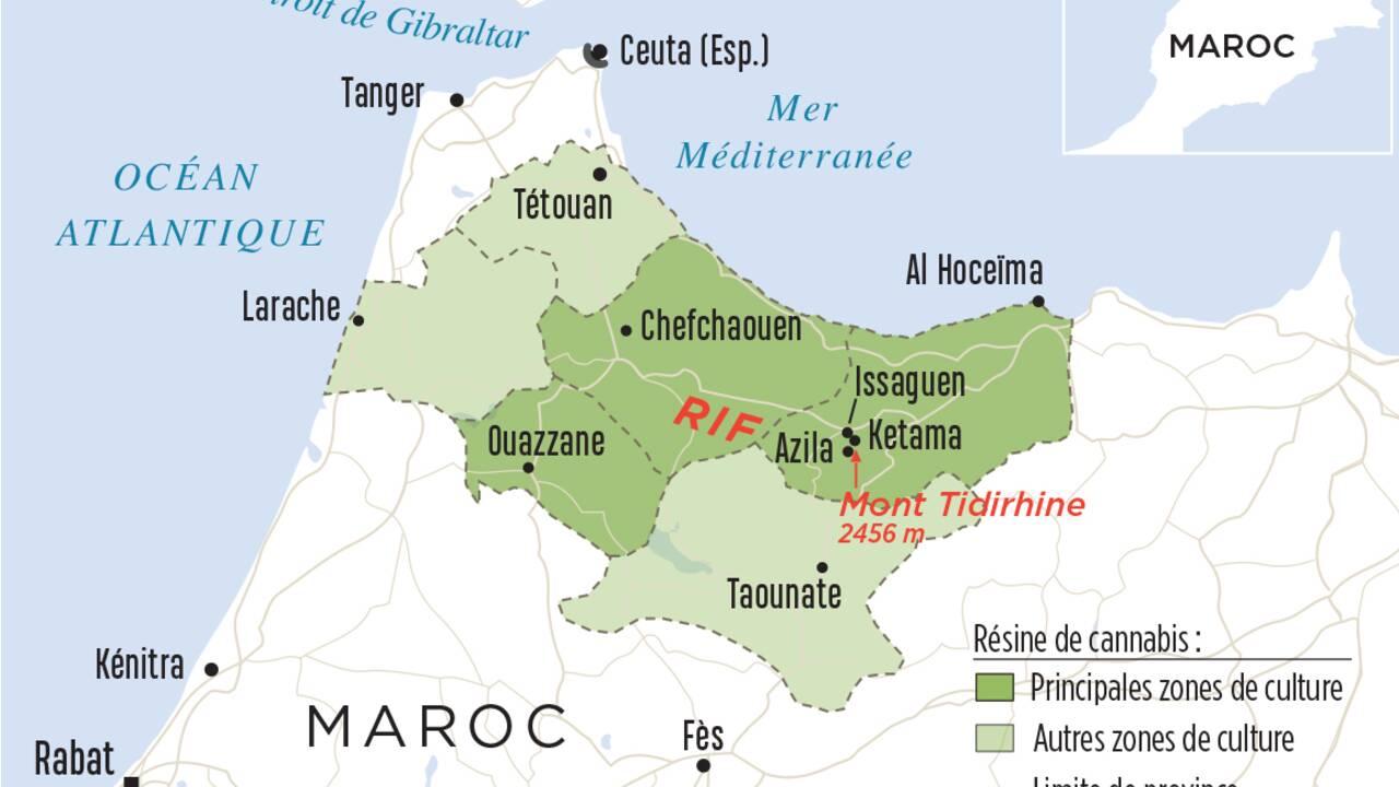 Cannabis : le kif du Rif, or vert du Maroc