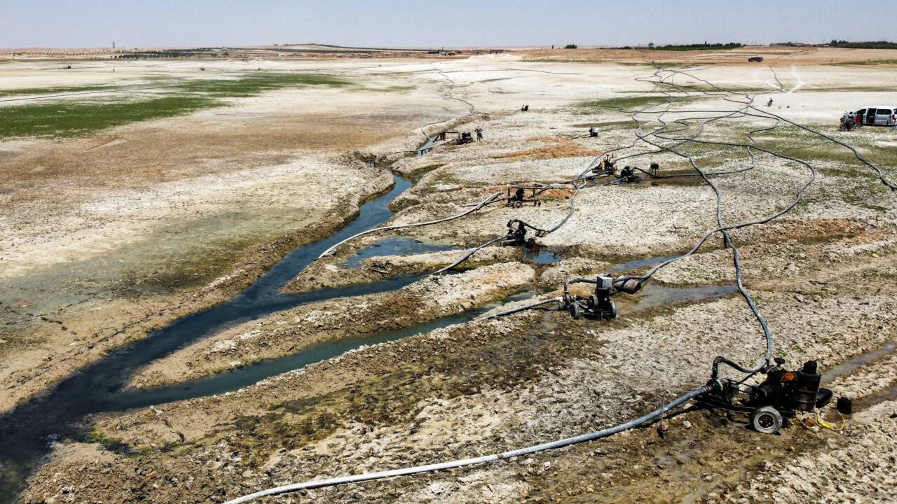Syrie: sécheresse et géopolitique menacent les riverains de l'Euphrate