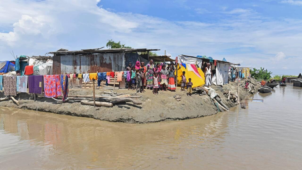 Inde: des centaines de milliers de personnes menacées par des inondations