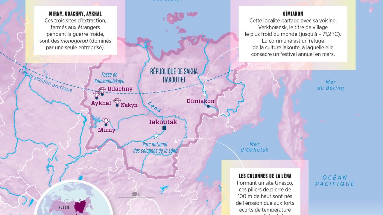 En Sibérie, enquête dans l'empire givré du diamant