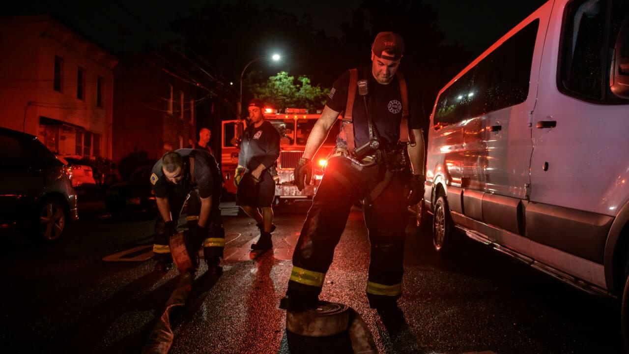 A New York, des habitants sous le choc après des inondations soudaines et historiques