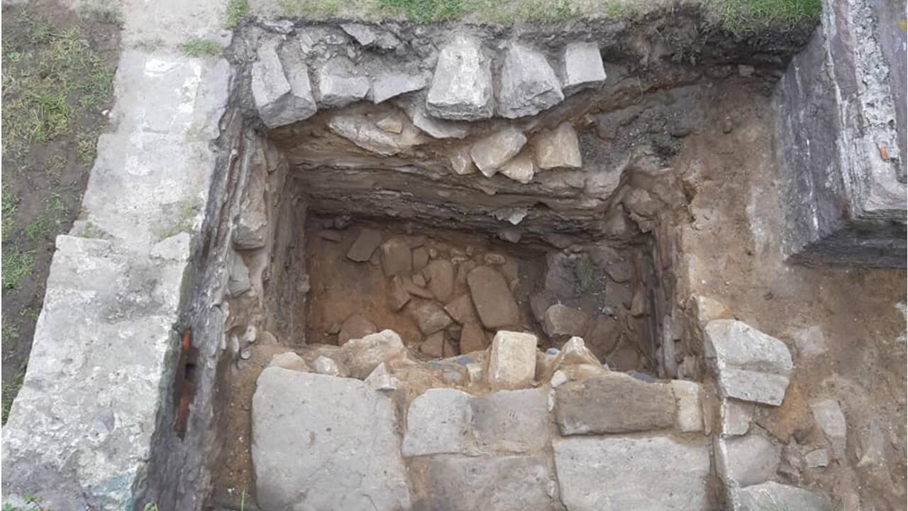 Un bunker nazi découvert dans les ruines d'un fort romain sur l'île d'Alderney