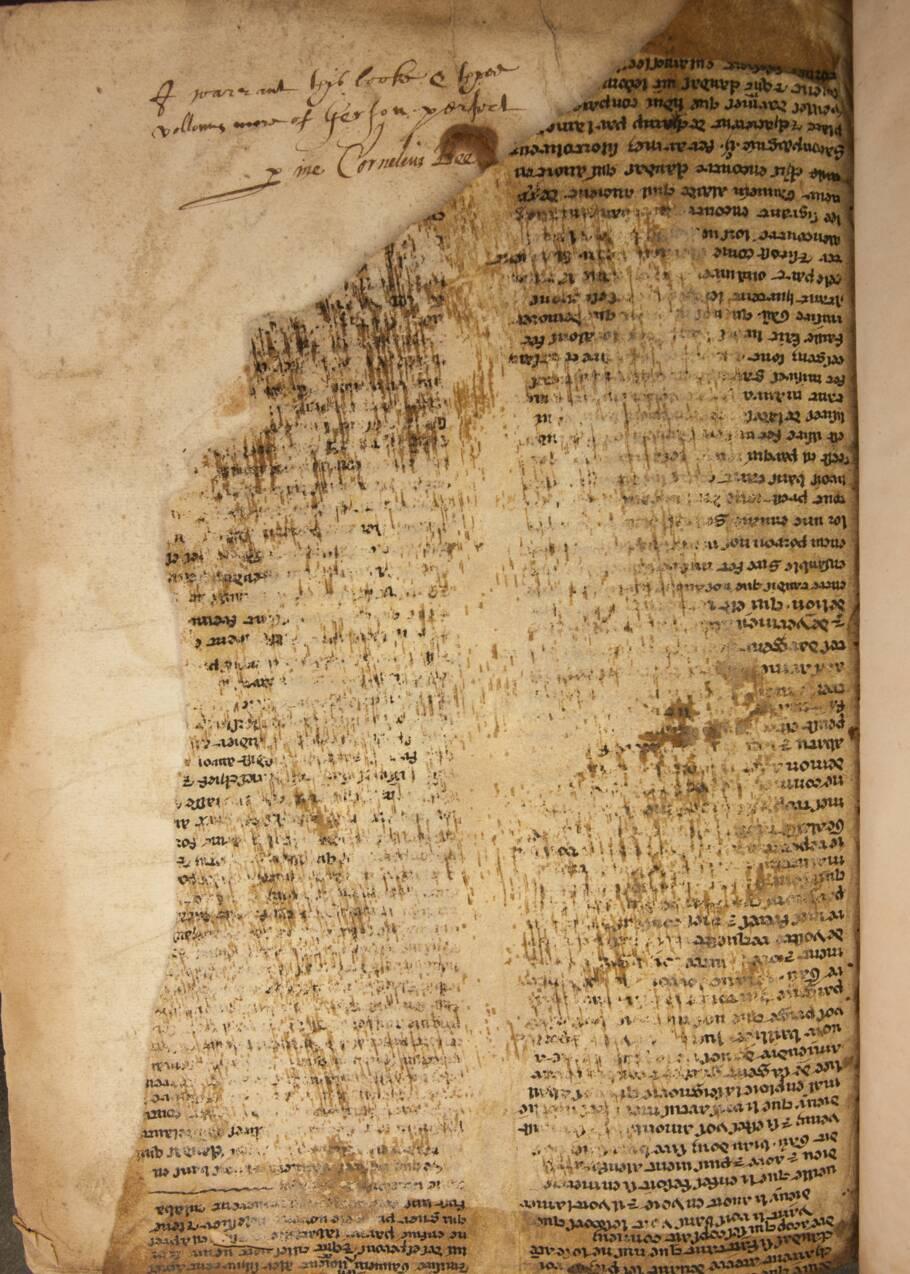 Des chercheurs décryptent les fragments d'un manuscrit racontant la légende de Merlin