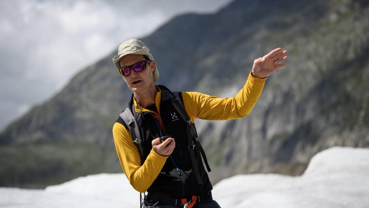 Matthias Huss, témoin vigilant de l'inexorable recul des glaciers suisses