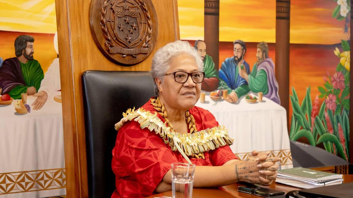 Climat: la Première ministre des Samoa tire le signal d'alarme avant la COP26