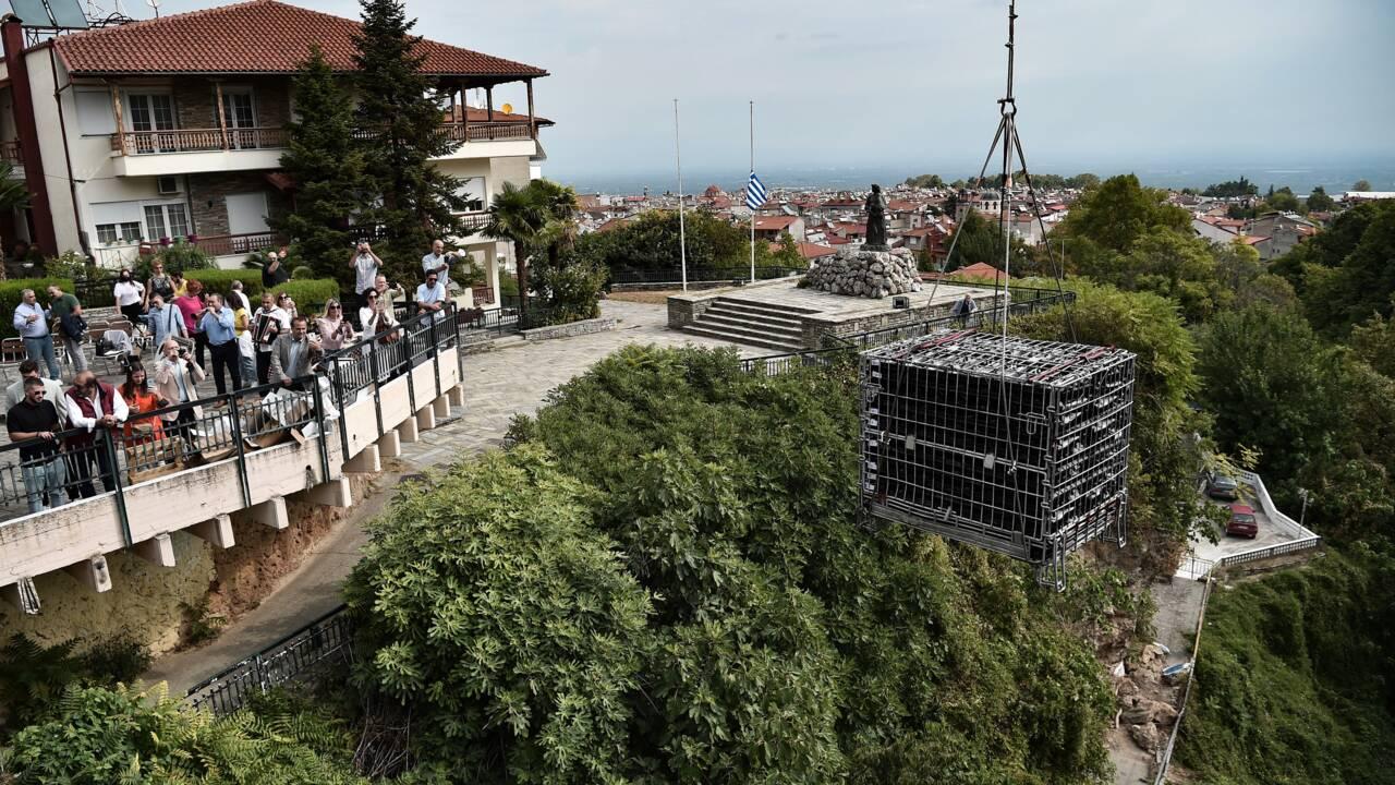 Les vignerons grecs s'essayent au vieillissement en rivière